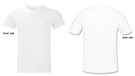 personalised t shirt with your and or text both sides prin