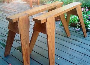 Build A Classic Sawhorse - FineWoodworking