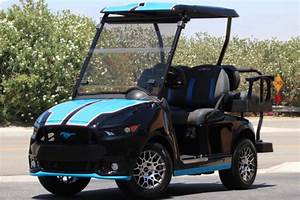 Golf First Edition 2017 : limited run of 43 petty s garage mustang golf carts for sale ~ Medecine-chirurgie-esthetiques.com Avis de Voitures
