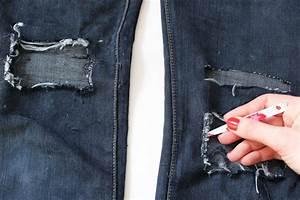 Comment Réparer Un Liner Déchiré : diy jean blog mode lyon diy artlex ~ Maxctalentgroup.com Avis de Voitures
