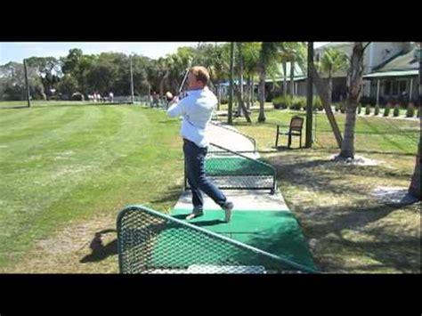 left handed golf swing shoeless left handed golf swing