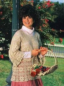 Womens U0026 39  Lace Blouse Top Crochet Pattern Instructions