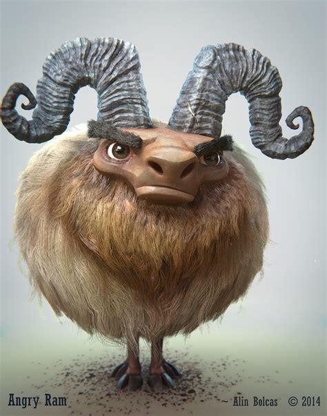 angry ram blendernation