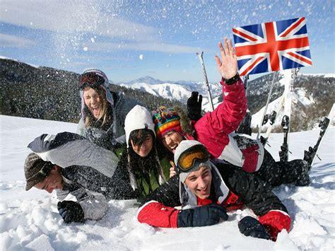 Skier En Apprenant L'anglais