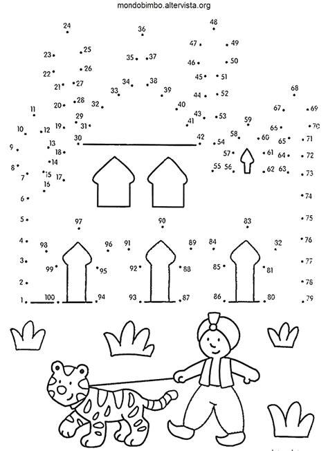disegni con le bambini unire i puntini da stare con disegni con giochi di