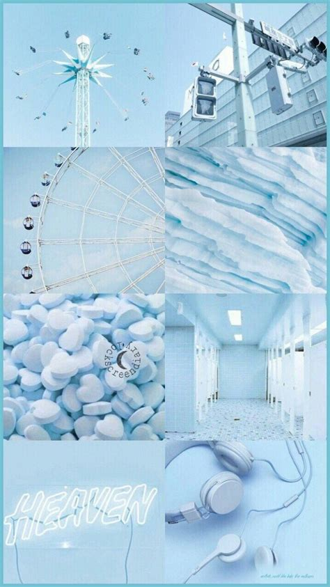 baby blue backgrounds aesthetic
