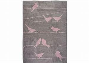 Tapis En Coton : tapis enfant motif colombe oiseau sign aratextil ~ Nature-et-papiers.com Idées de Décoration