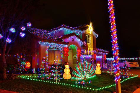 A Very Christmas Decorated Houses Pictures, Photos, And