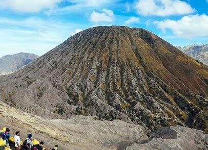 daftar gunung berapi   aktif  pulau jawa
