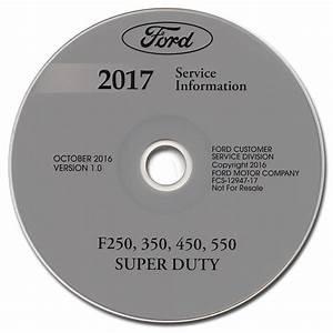 2017 Ford Super Duty Owner U0026 39 S Manual Original F250 F350
