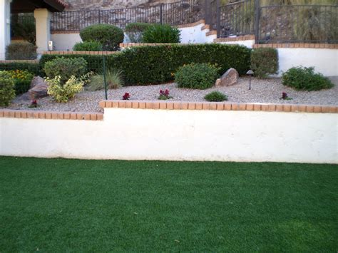 Backyard Grass by Install Artificial Grass In Your Az Home S Yard