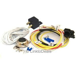 universal car horn installation wire kit w button relay