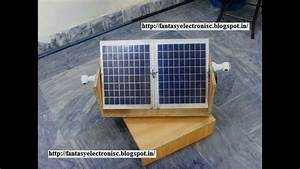 Automatic Solar Tracking System With Complete Project Report  Code And Circuit Diagram