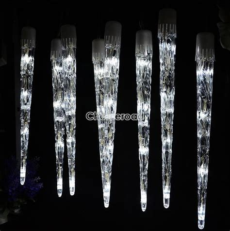 Led Icicle Light Tube Dripping Indooroutdoor Christmas