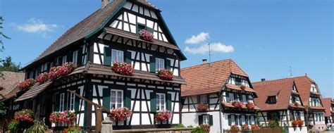 maison de l alsace les maisons traditionnelles alsaciennes agence briques en stock