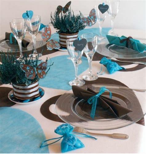 d 233 co de mariage bleu turquoise marron chocolat pinteres