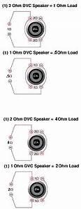 dvc 1 ohm wiring fi btl ecousticscom With wiring 2 4ohm dvc subs to ohms