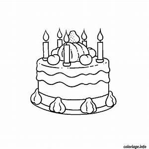 Dessin Gateau Anniversaire : coloriage anniversaire 5 ans dessin ~ Melissatoandfro.com Idées de Décoration