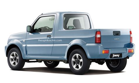 suzuki pickup sure we ll take this suzuki jimny pickup rendering