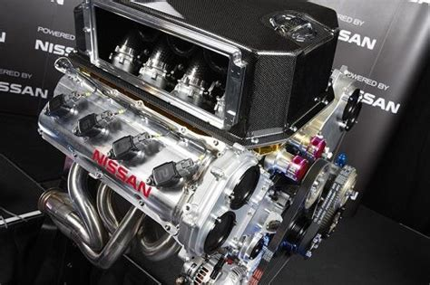 what does a nissan v8 racing engine to do with gm the uaw and trucks torque news