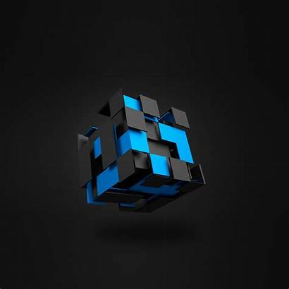 Cube 3d Abstract Wallpapers Qhd Direct