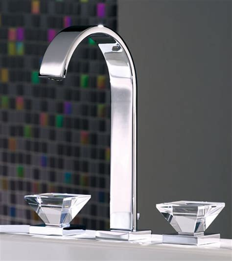 luxury faucets  crystal glass handles  joerger