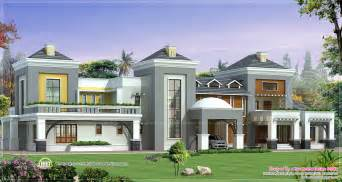 house plans luxury homes luxury house plan with photo kerala home design and floor plans