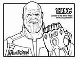 Thanos Infinity Coloring Gauntlet Avengers War Draw Drawing Pages Drawittoo Too Marvel Printable Drawings Coloriage sketch template