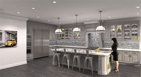 grey kitchen ideas cgarchitect professional 3d architectural visualization user community gray kitchen