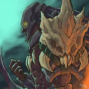 Head Hunter Rengar!!! by Mkuchima on DeviantArt