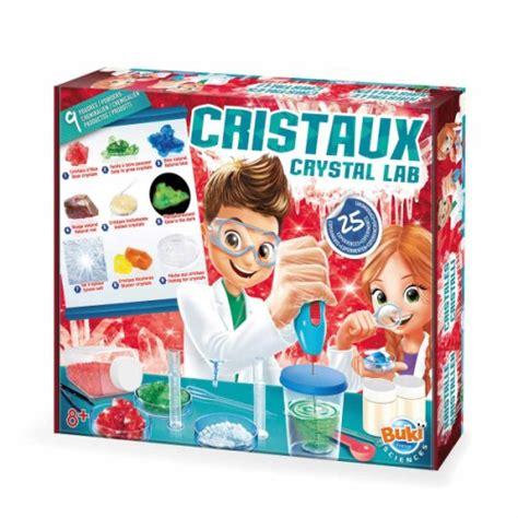siege pour manger bebe grand coffret cristaux 25 expériences buki pour enfant dès