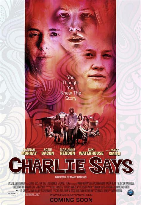 Charlie Says (2018) - FilmAffinity