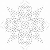 Coloring Celtic Printable Symbols Colouring sketch template