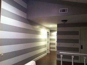Painting Horizontal LinesStripes On The Interior Modern