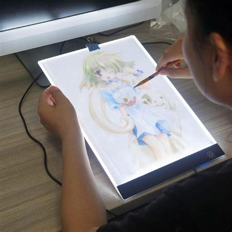 digital drawing tablet  led artist thin art stencil