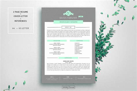 modèle document unique word 50 creative resume templates you won t believe are