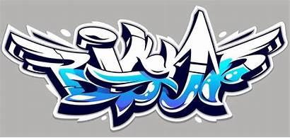 Graffiti Lettering Grafis Desain Vektor Letters Dei