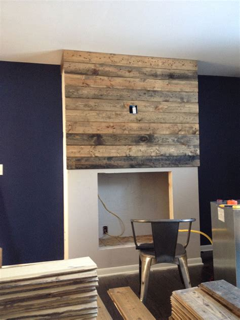 Home Design Grand Rapids Mi - how to create a diy reclaimed wood fireplace surround for less than 100 grand rapids interior
