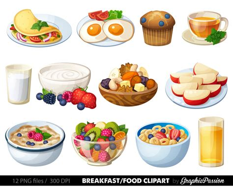 cuisine free breakfast clipart food clipart dessert clipart food clip