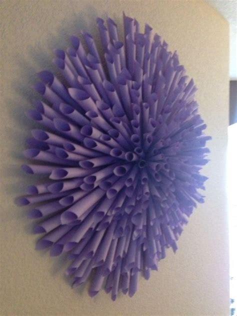 Handmade Paper Decorations Ideas - flower wall decor paper flower wall and handmade books on