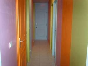 idee peinture couloir charmant peinture entre de maison With peindre escalier en bois 11 aide pour la deco et la couleur des murs couloir et cage