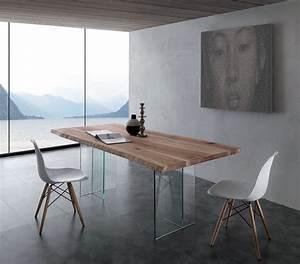 Petite Table Salle À Manger : table salle a manger verre et bois petite table de cuisine maison boncolac ~ Melissatoandfro.com Idées de Décoration