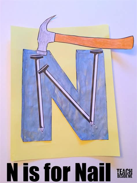 letter n preschool craft letter of the week preschool letter n activities teach 507