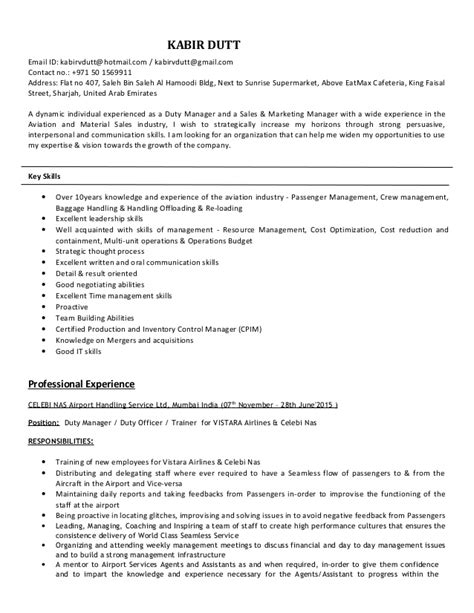 kabir duty updated resume
