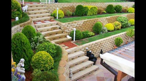 how to build garden retaining wall