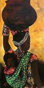 East African Mother & Child | Black Art | Pinterest
