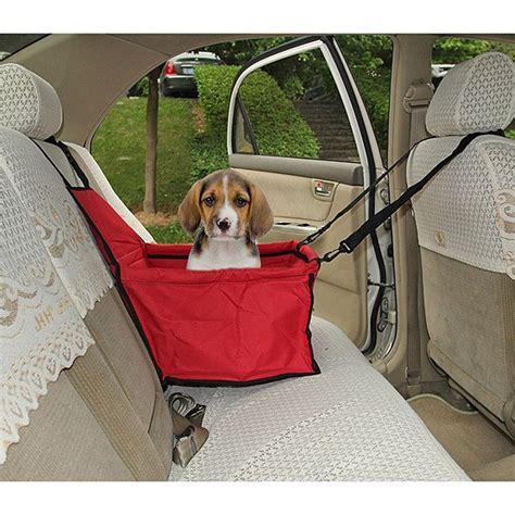 siege auto pour chien toile panier imperméable protection siège arrière auto