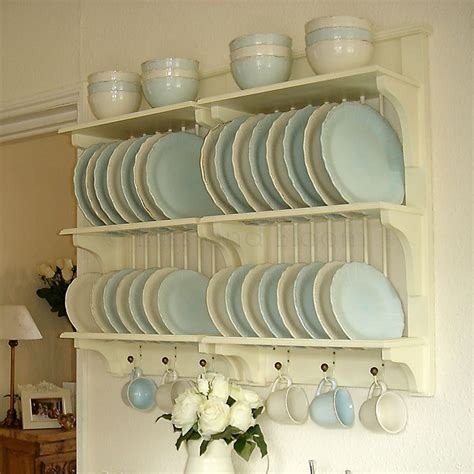 cream  tier plate rack bliss  bloom