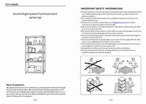 Topeakmart 5 Tier Storage Rack Heavy Duty Adjustable