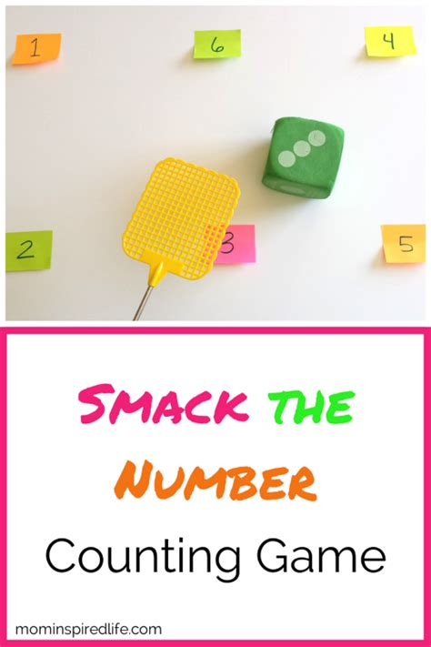 smack the number counting 414 | Smack the Number Counting Game for Preschool